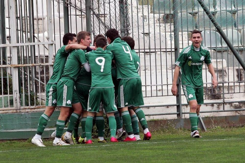Κέρκυρα-Παναθηναϊκός 0-2 (Κ20)