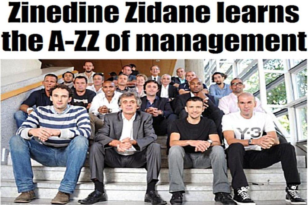 Coach... Zizou