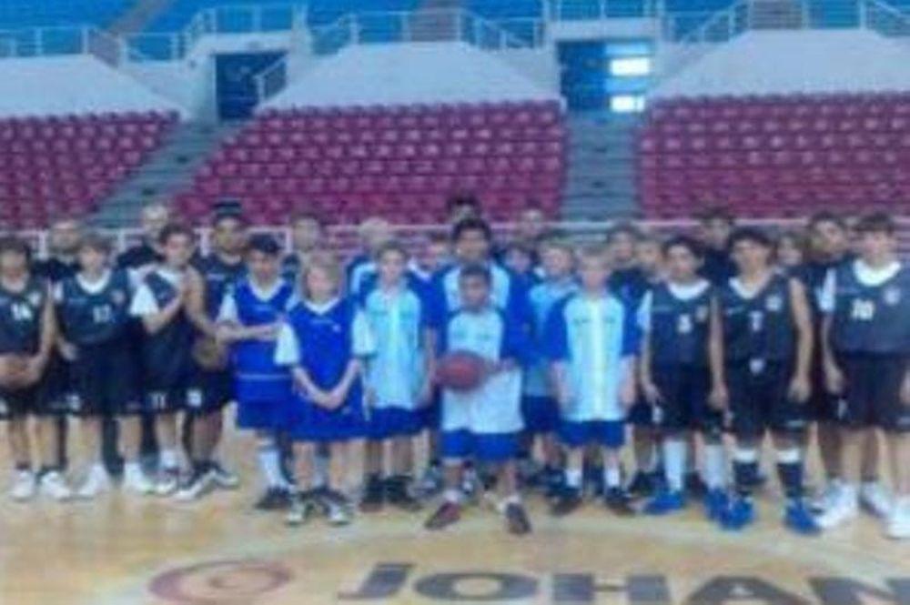 Ο ΠΑΟΚ φιλοξένησε την Masu Basket Φιλανδίας