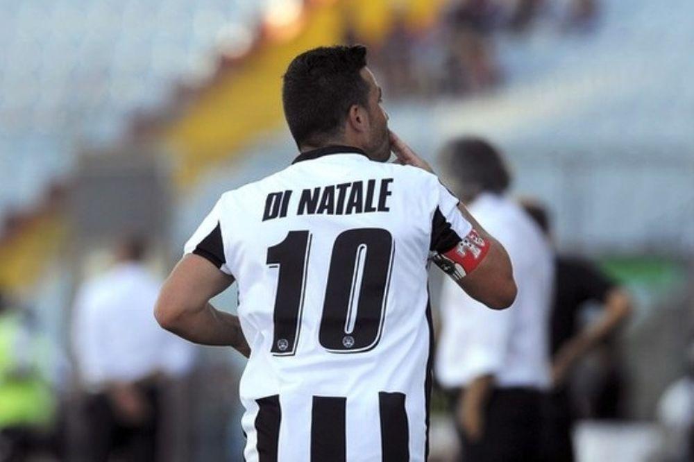 Ντι Νατάλε: «Στόχος μου τα 150 γκολ»