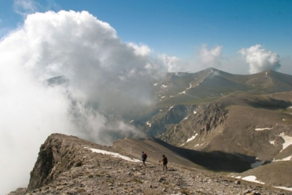 Τη γλύτωσε… νεαρός ορειβάτης
