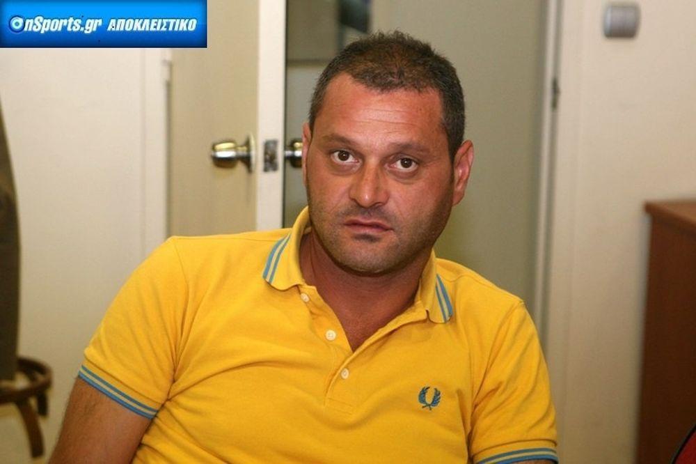 Ελευθεριάδης στο Onsports: «Σπηλώνουν τα ονόματά μας»