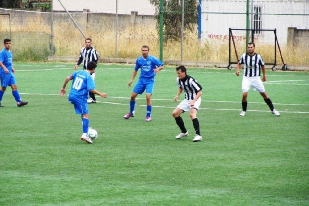 ΠΑΟΚ Μάνδρας – Ειδυλλιακός 5-0