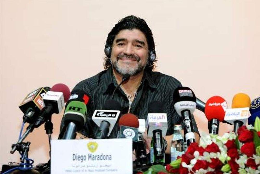 Μαραντόνα: «Αφιερωμένη στις μητέρες της Αργεντινής η νίκη» (vd)