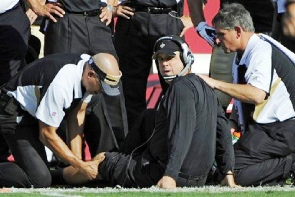 Τραυματίστηκε… προπονητής σε αγώνα NFL