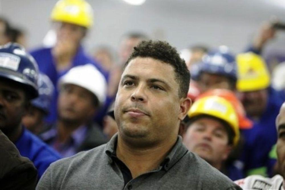 Ρονάλντο: «Το Μουντιάλ έπρεπε να αρχίσει στο Σάο Πάουλο»