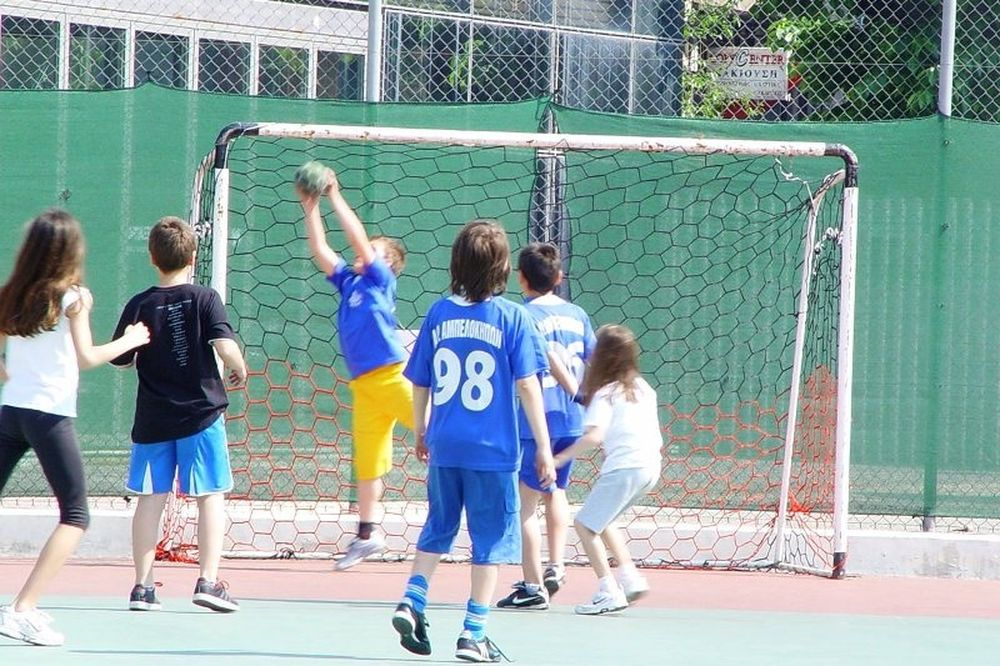 Street handball στην Θεσσαλονίκη