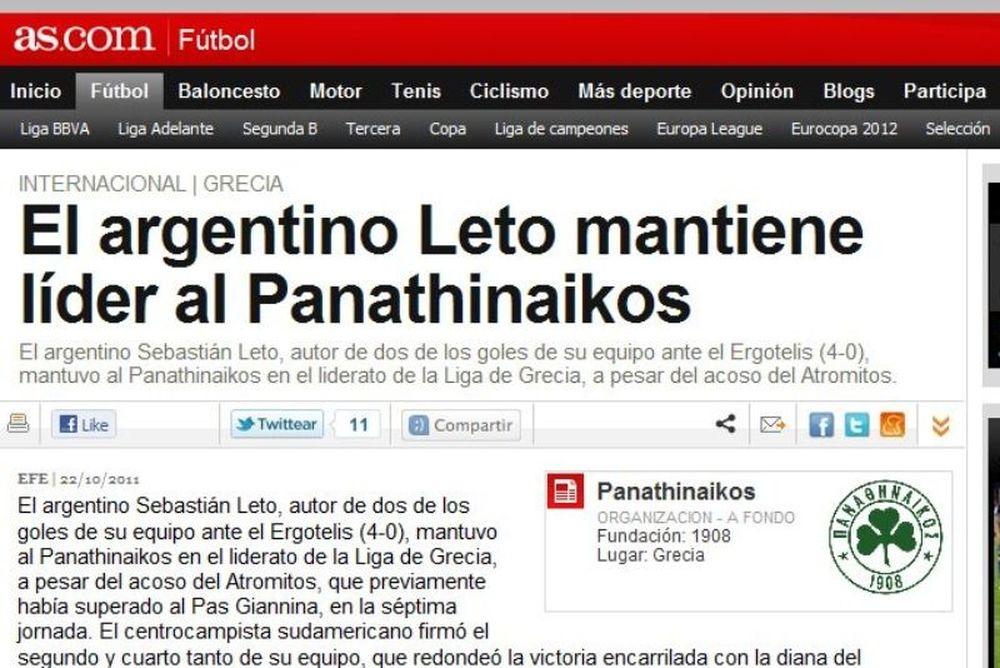 «Λέτο, ο Αργεντινός ηγέτης»