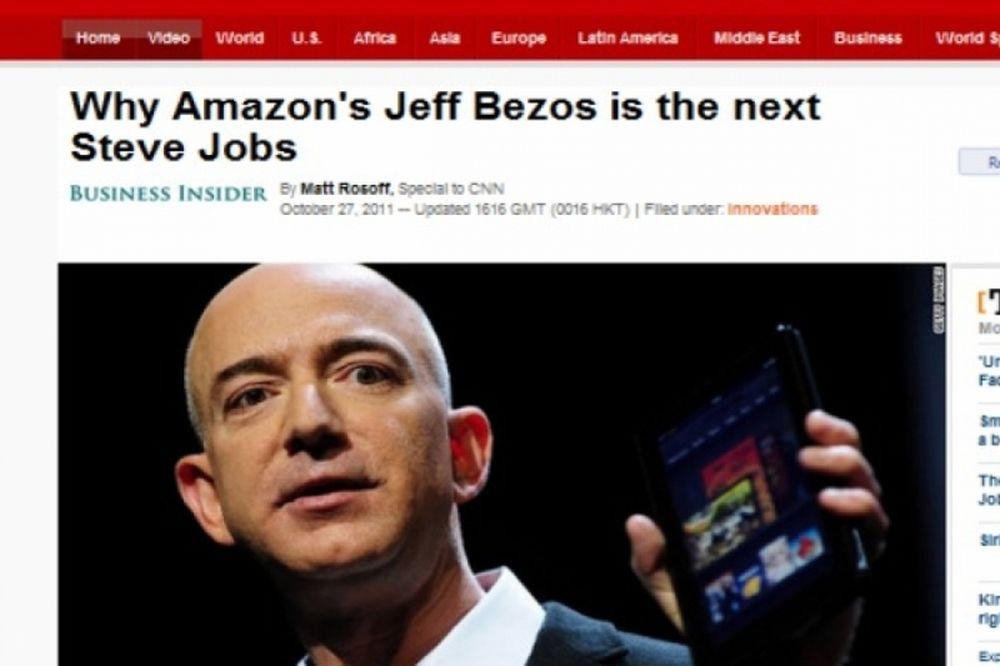CNN: Jeff Bezos ο νέος Steven Jobs;