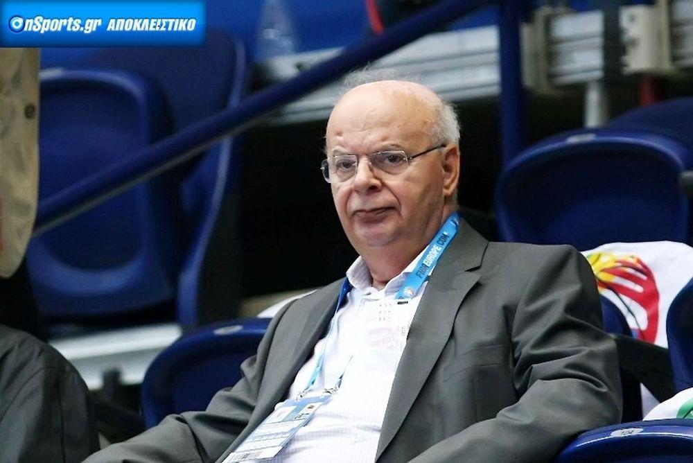 Βασιλακόπουλος στο Onsports: «Μακριά από τον αθλητισμό η πολιτική»