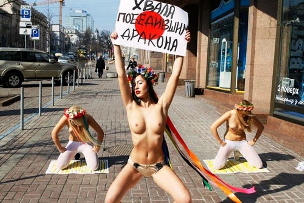 FEMEN: Η επανάσταση των γυναικών (Photos+videos)