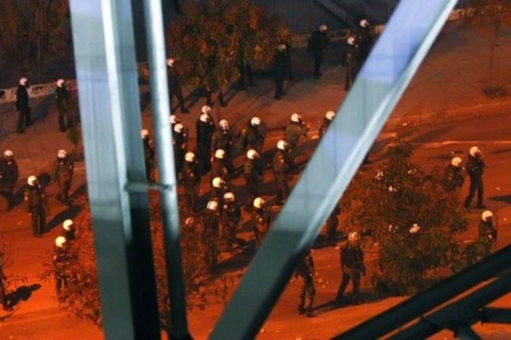 Πέντε συλλήψεις στο ντέρμπι της Τούμπας