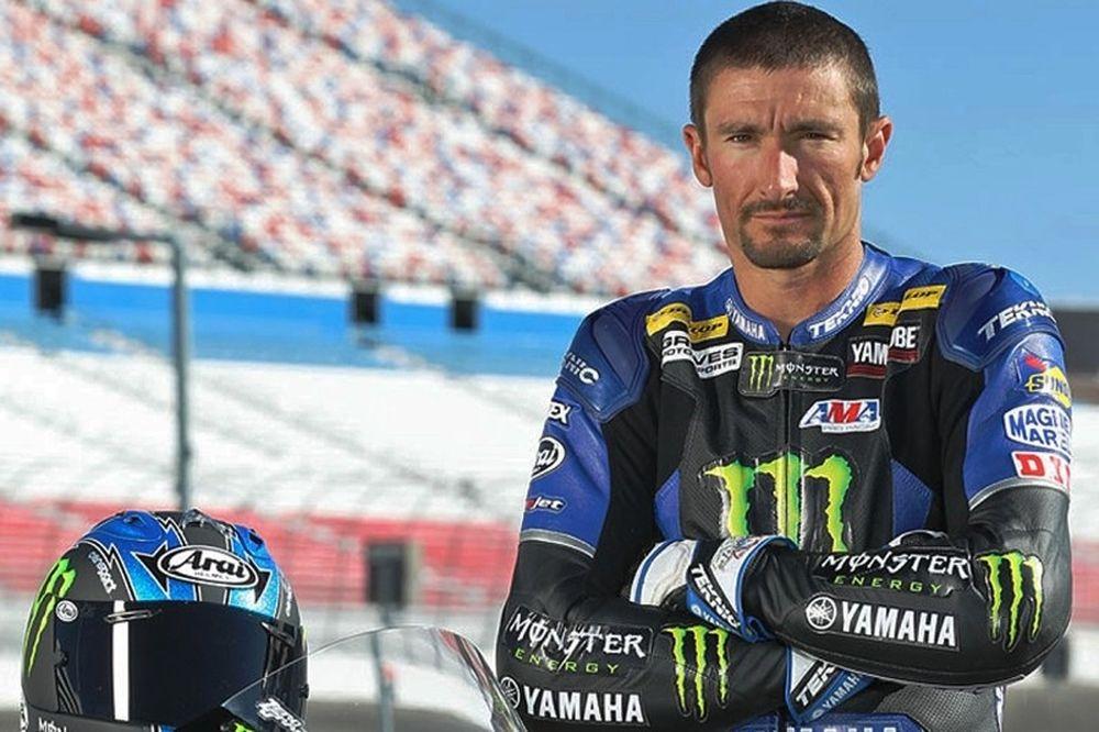 Ο Χέινς στη θέση του Έντουαρντς στη Yamaha