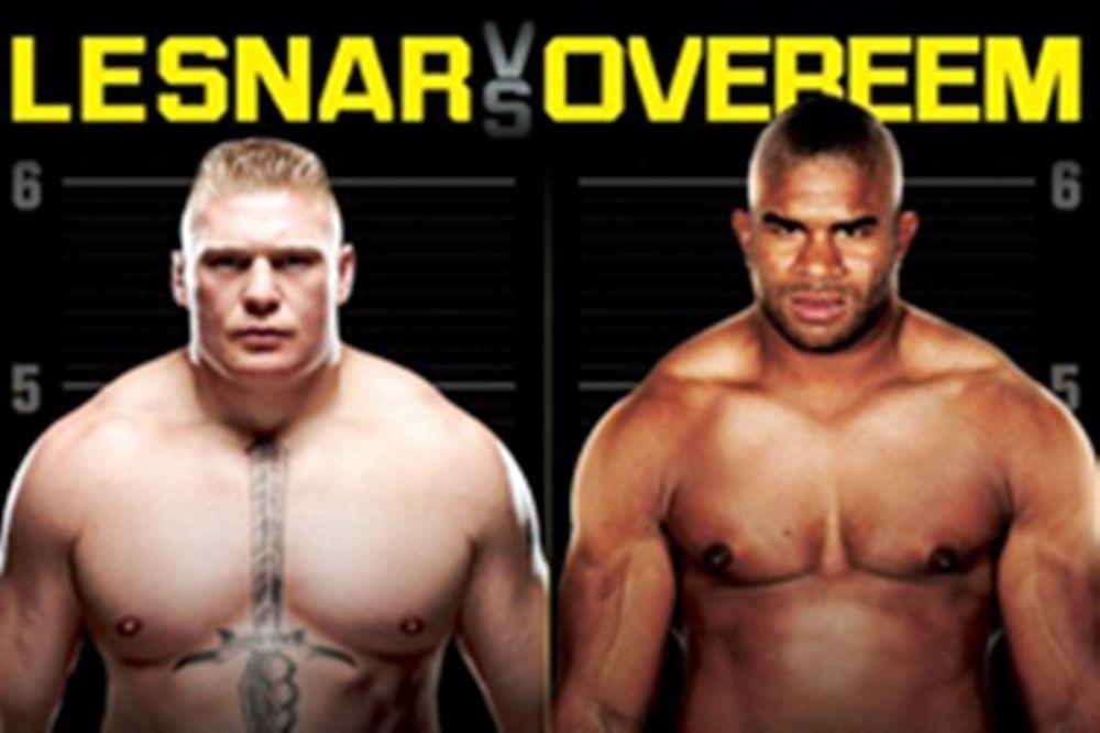 Το πόστερ του UFC 141
