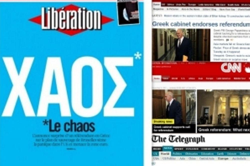 Διεθνή media: Το δημοψήφισμα, η κατάρρευση και το χάος