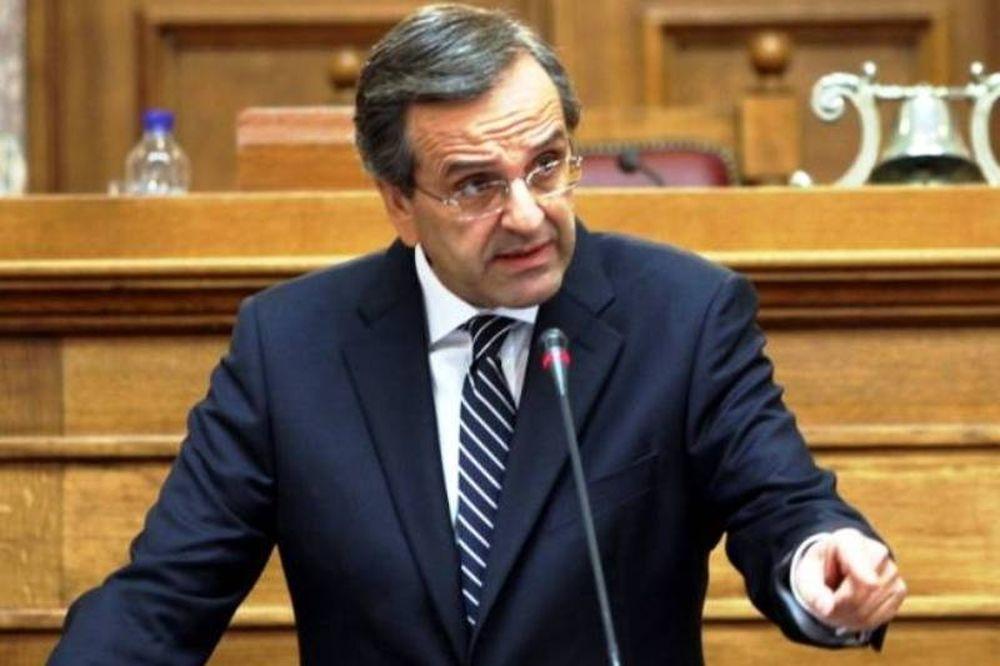 Σαμαράς: «Kύριε Παπανδρέου θέλετε να διαλύσετε την Ελλάδα;»