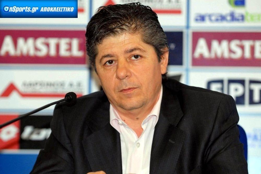 Καϋμενάκης στο Onsports: «Δεν υπάρχει θέμα Τσιώλη»