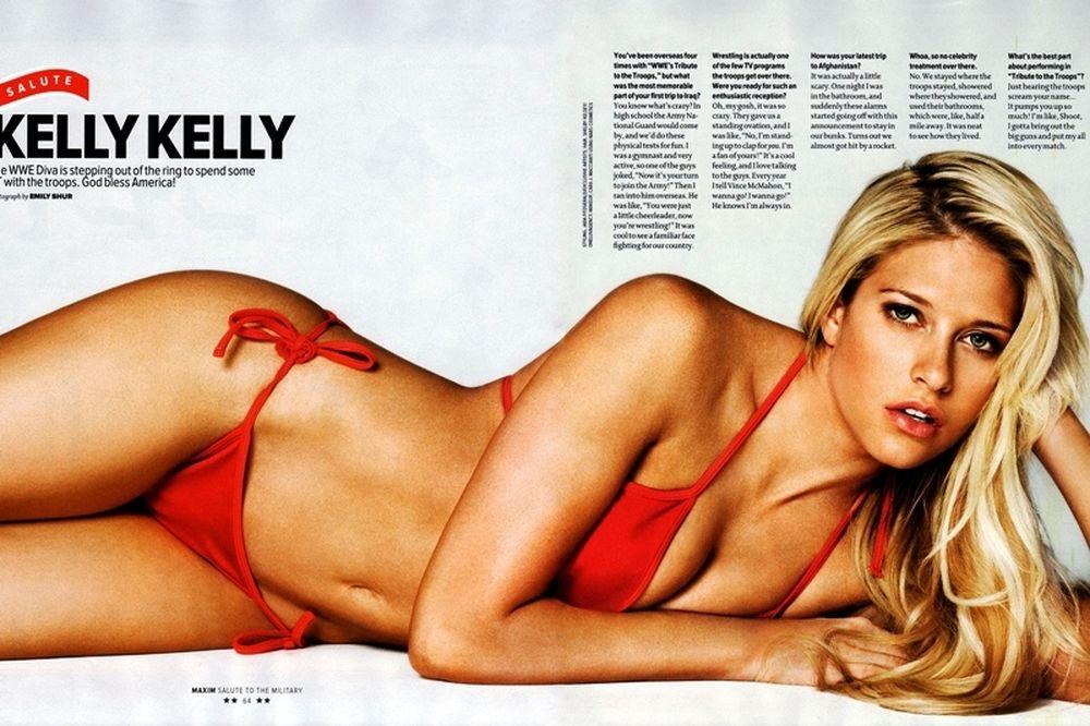 Μανία με Kelly Kelly