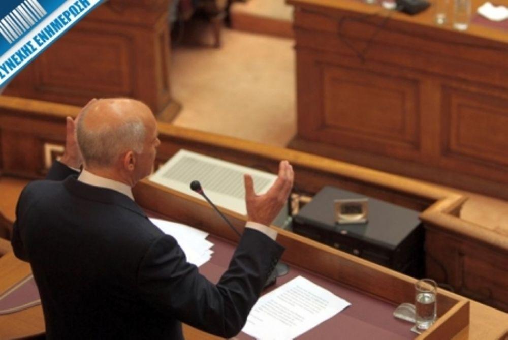 Γ. Παπανδρέου: Αυτό που διακυβεύεται είναι η παραμονή μας στο ευρώ