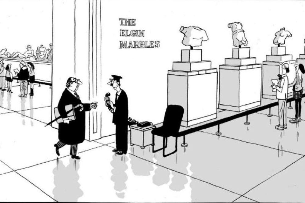 Η γελοιογραφία της Daily Mail για την Ελλάδα και ο Παρθενώνας