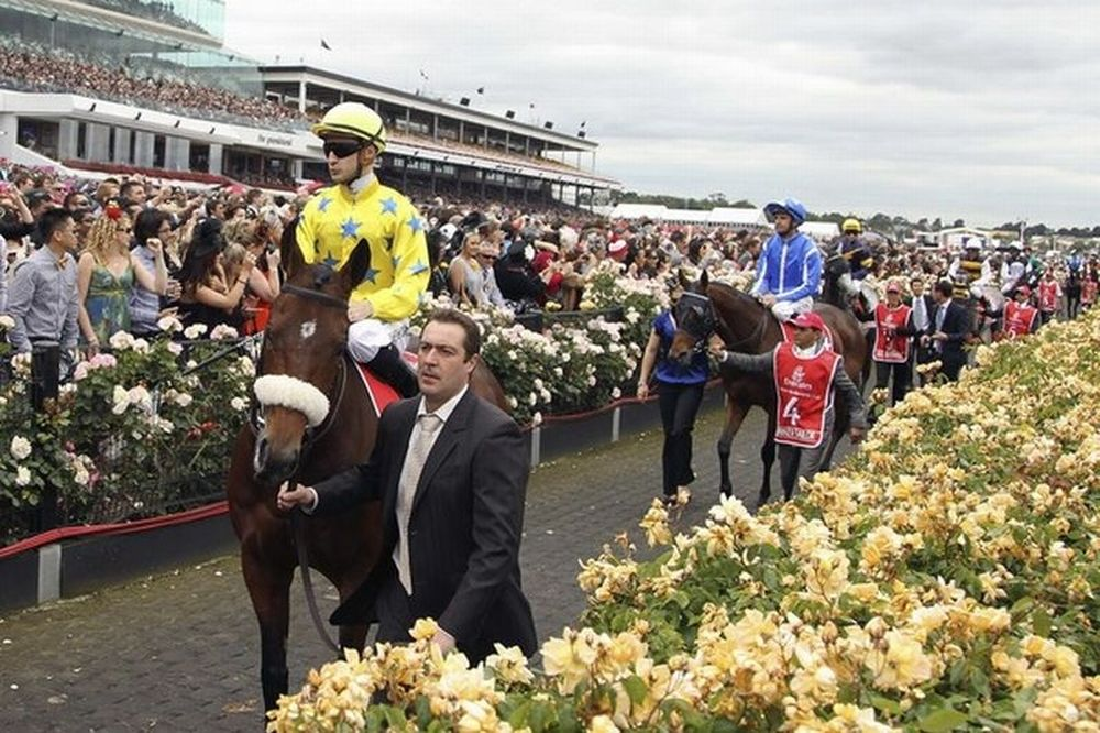 O Dunaden μεγάλος νικητής της ιπποδρομίας της Μελβούρνης