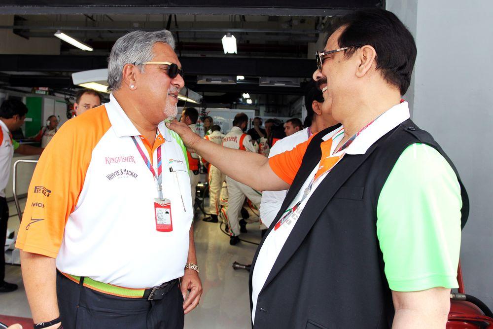 Άραβες στο ποδόσφαιρο, Ινδοί στη Formula 1