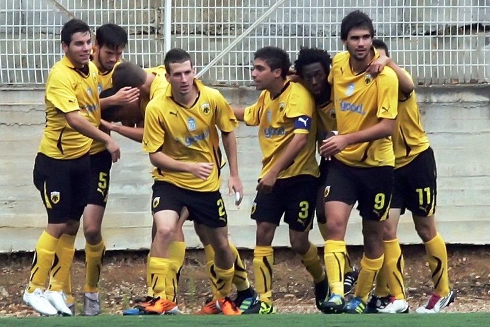 Παναθηναϊκός-ΑΕΚ 1-3 (Κ20)