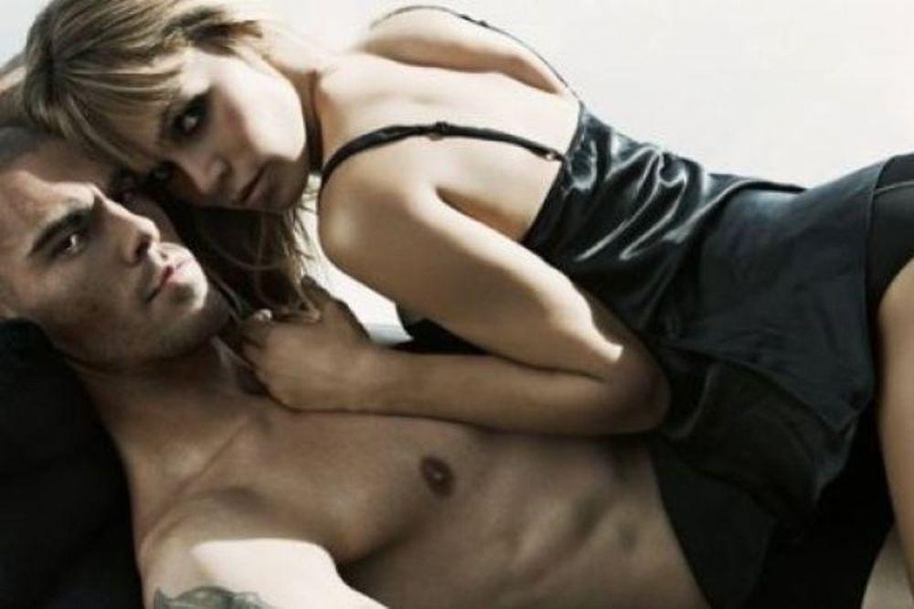 Η «καυτή» φωτογράφηση του Βαλντές με την γυναίκα του (photos)