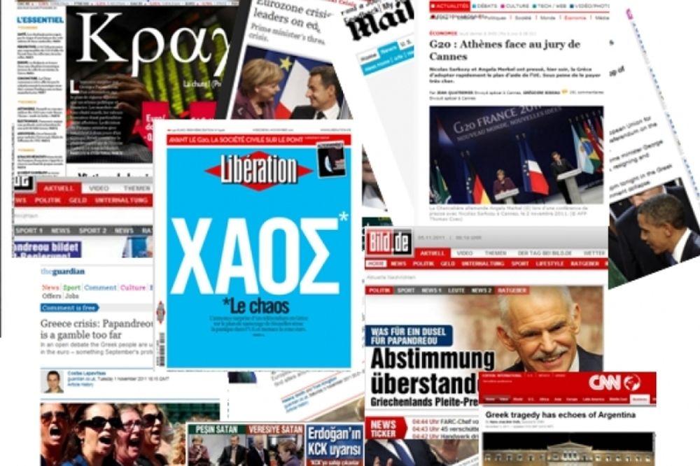 Σκληρά πρωτοσέλιδα για την Ελλάδα στα ξένα media