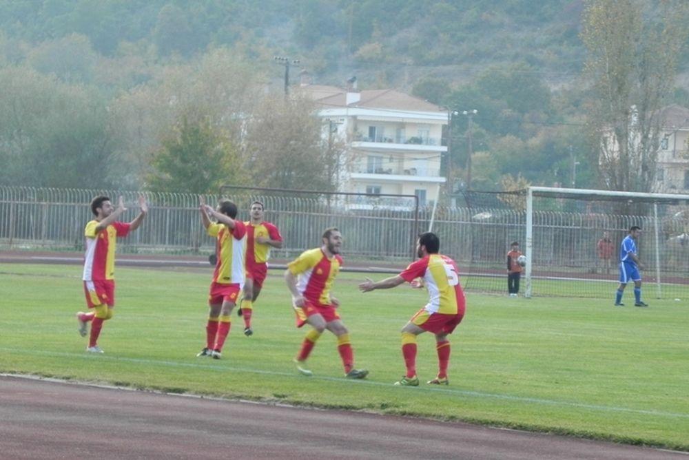 Καστοριά - Ακρίτας Αχλάδας 4-2