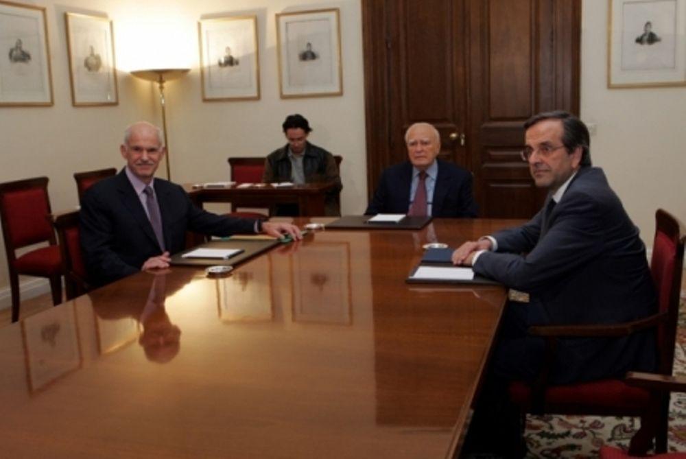Συμφωνία για νέα κυβέρνηση συνεργασίας