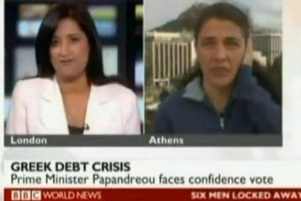Ελληνίδα στο BBC: «Κύριε Παπανδρέου μην μας κάνετε άλλο κακό»