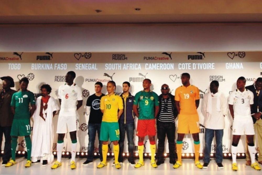 Δέκα «αφρικανικές» φανέλες