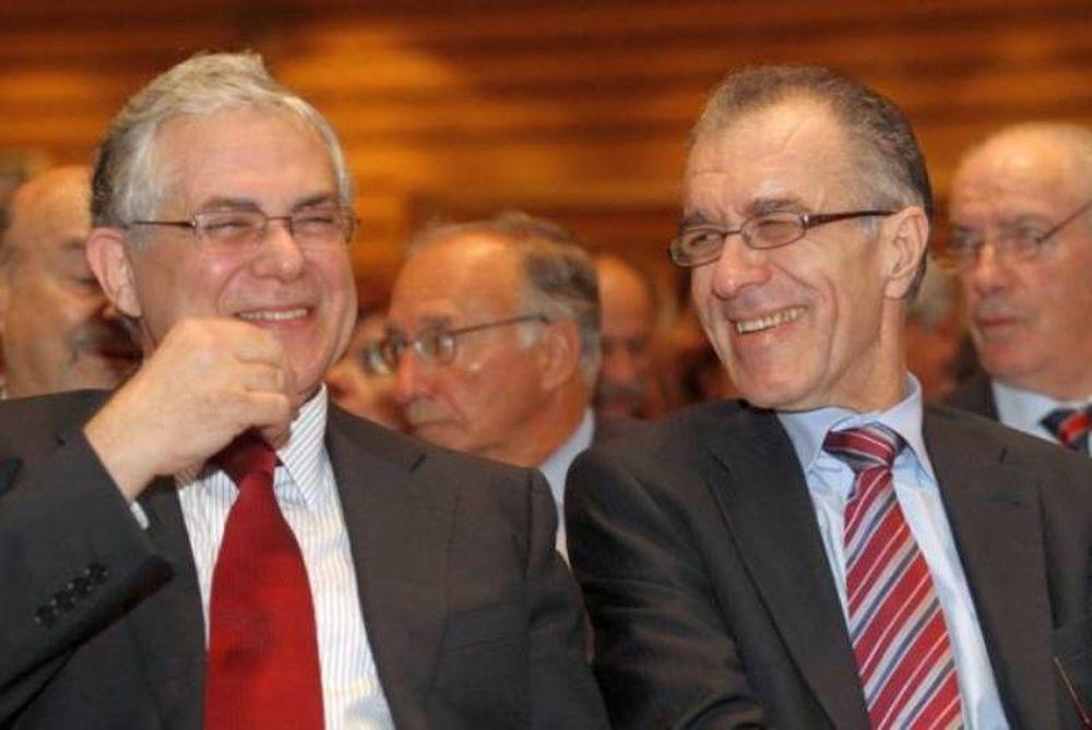 Ο Παπαδήμος διαλέγει Ράπανο για υπουργό Οικονομικών