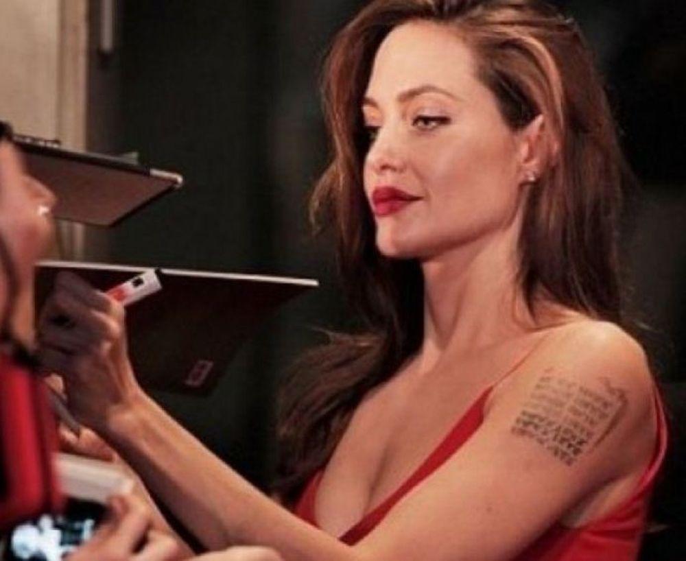 Ελαμψε η Angelina Jolie στην πρεμιέρα του Brad Pitt