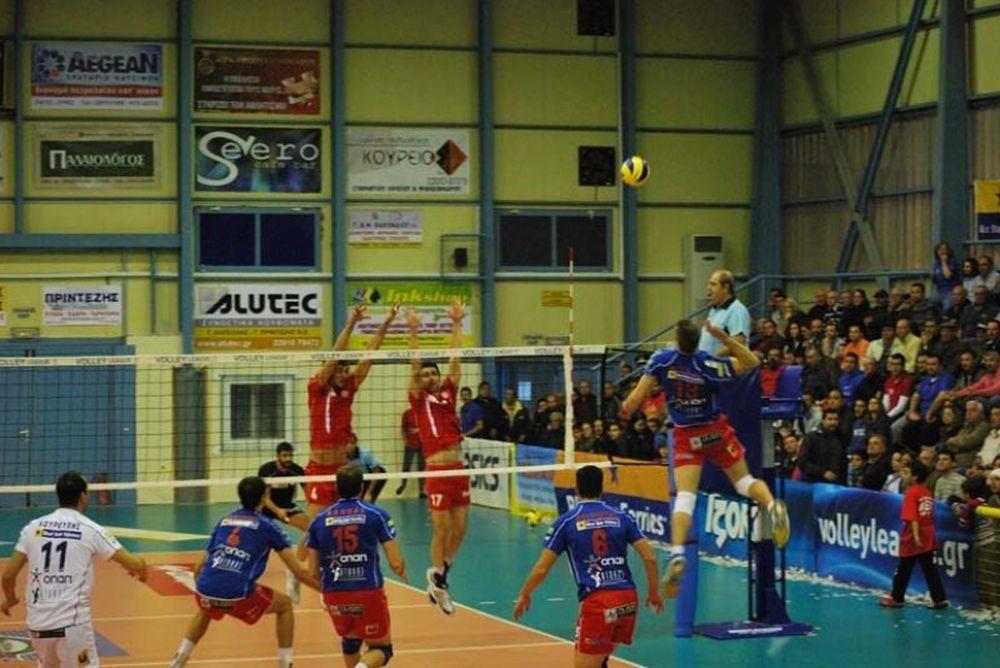 Το πρόγραμμα του Volleyleague Cup