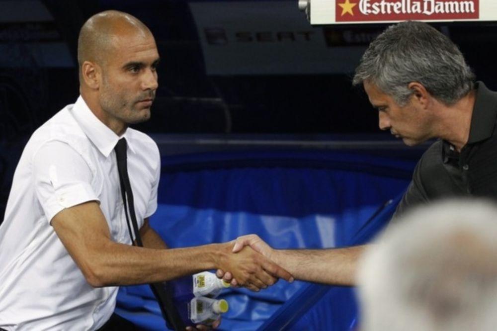 Γκουαρντιόλα: «Καλύτερος προπονητής του κόσμου ο Μουρίνιο»