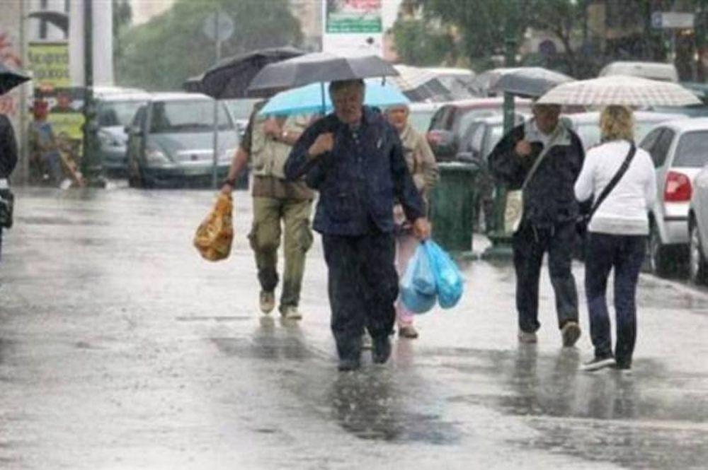 Βροχές, χιόνια και πτώση της θερμοκρασίας
