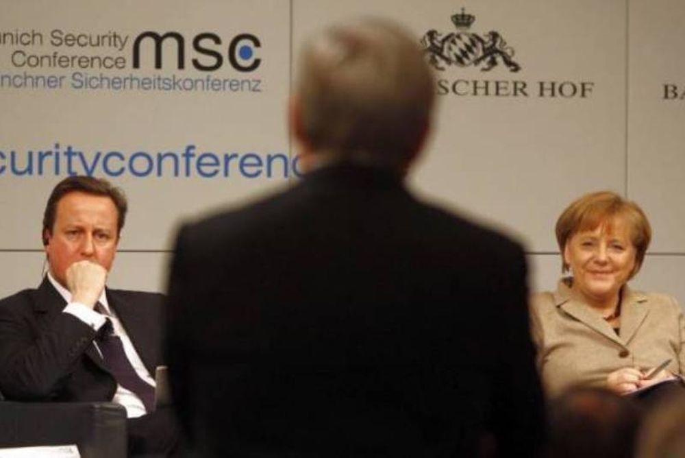 Συνάντηση Μέρκελ-Κάμερον την Παρασκευή
