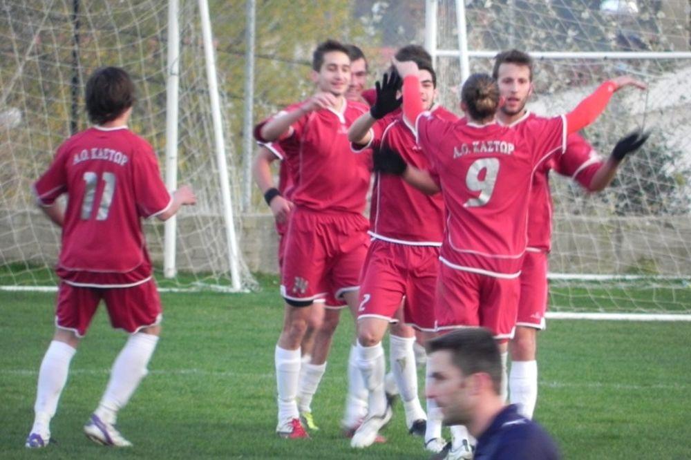 ΑΟ Κάστωρ-Εθνικός Βατερού 2-0
