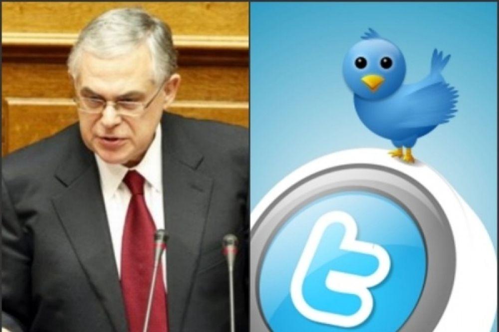 Τα πρώτα σχόλια στο Twitter για την ομιλία Παπαδήμου στη Βουλή