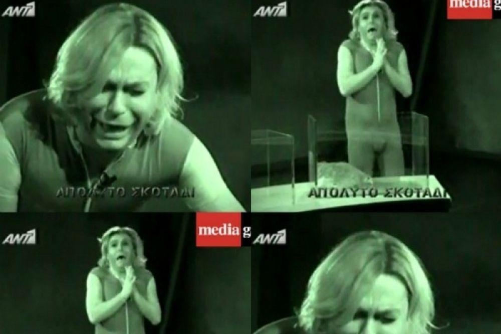 Όλες οι ξεκαρδιστικές αντιδράσεις του Τρύφωνα Σαμαρά στο Black Out! (video)