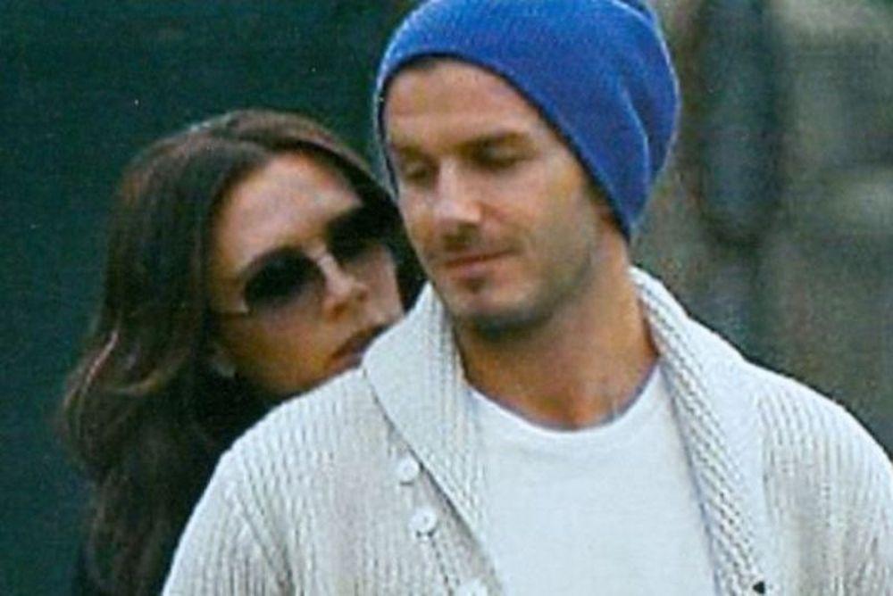 Το ερωτευμένο ζεύγος Beckham στο γήπεδο