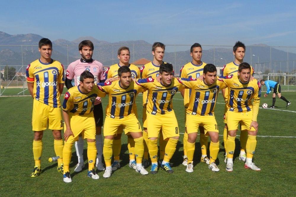 ΑΕΚ-Αστέρας Τρίπολης 0-2 (Κ20)
