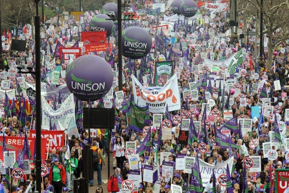 Φοβούνται τις διαδηλώσεις οι Λονδρέζοι
