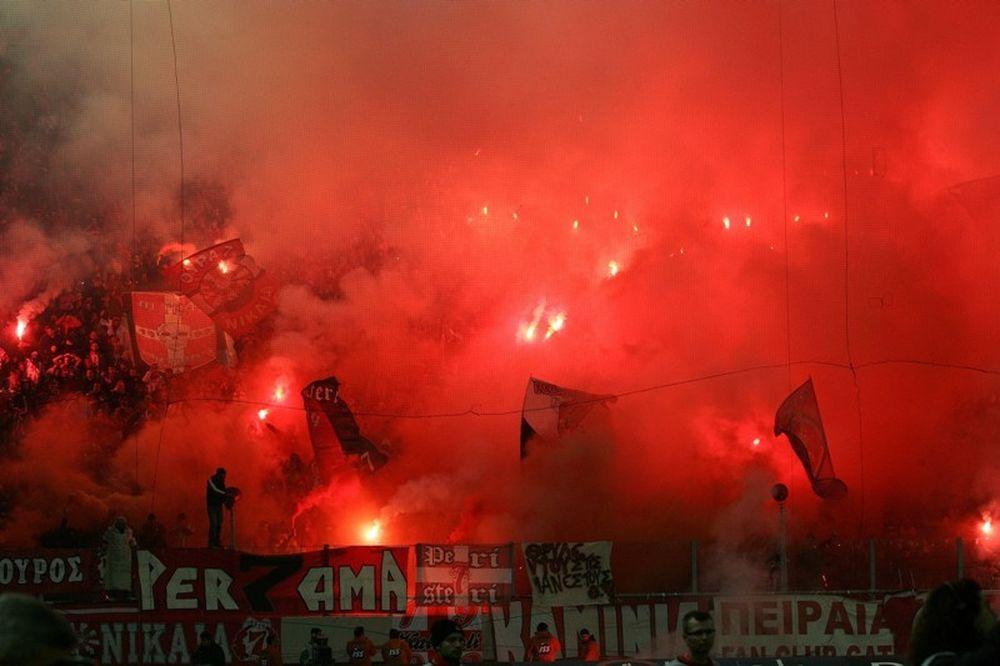 «Κόκκινο» στους οπαδούς του Ολυμπιακού για Τρίπολη