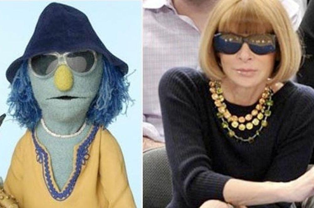Τα Muppets και οι διάσημοι σωσίες τους
