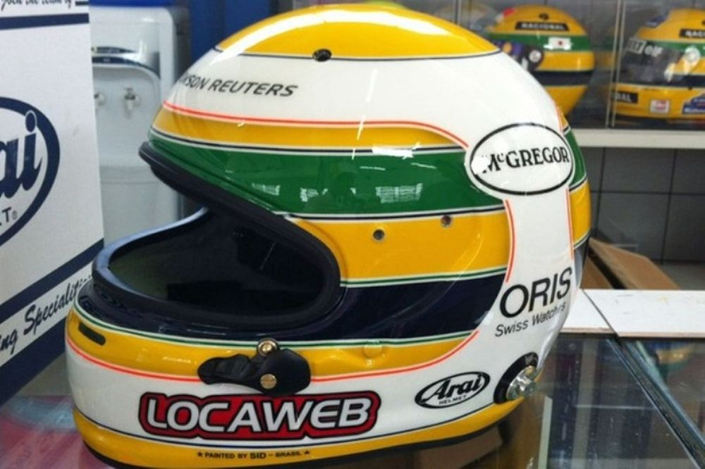 F1: Ο Μπαρικέλο τιμά τον Σένα με ένα ιδιαίτερο κράνος