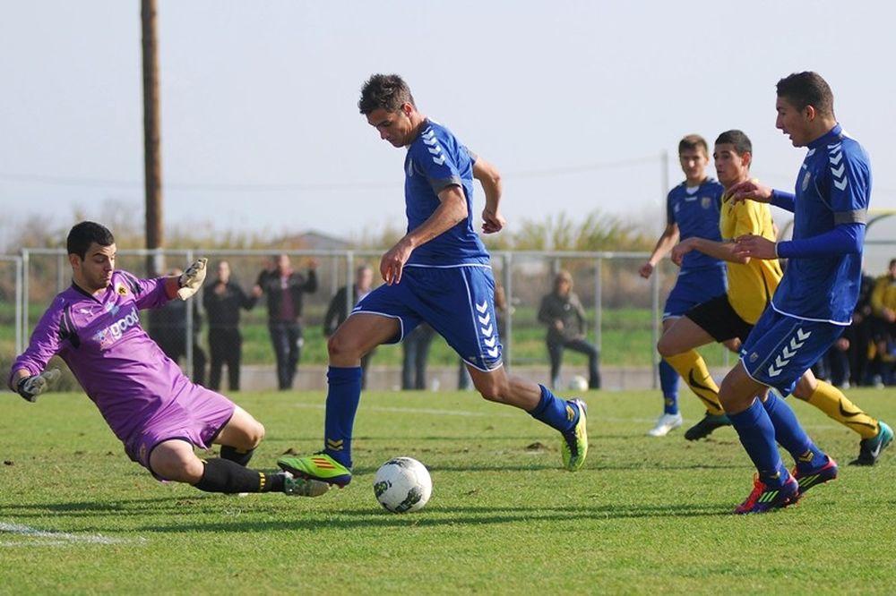 Παναιτωλικός-ΑΕΚ 1-0 (Κ20)