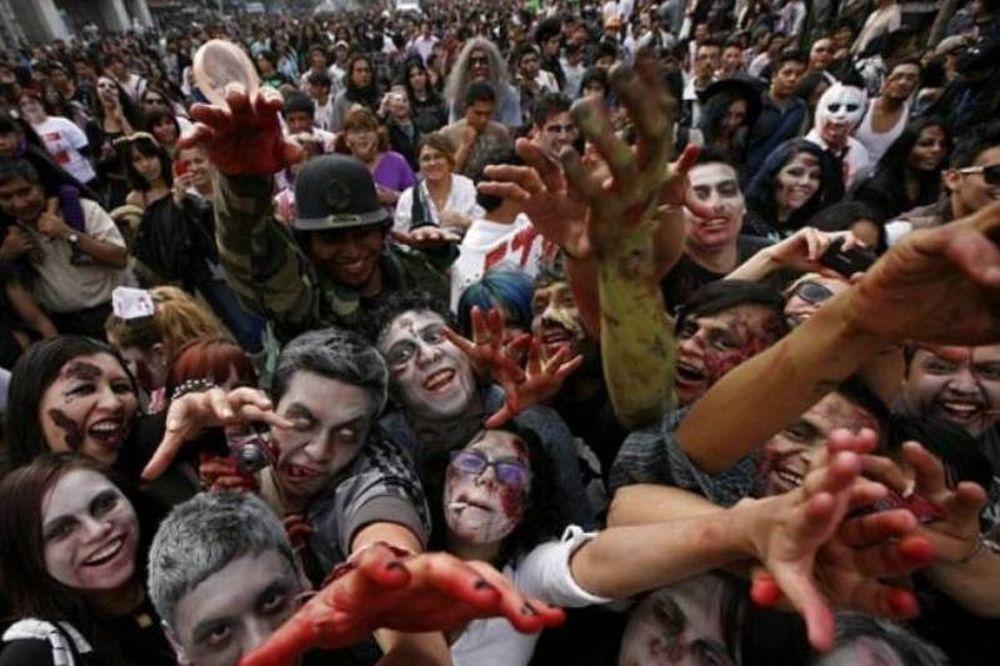 Χιλιάδες «ζόμπι» στη πόλη του Μεξικού